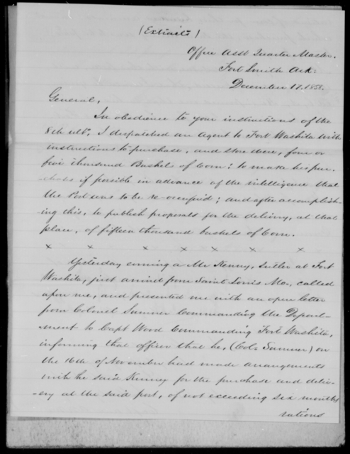 [Blank], [Blank] - State: Arkansas - Year: 1859 - File Number: Q3