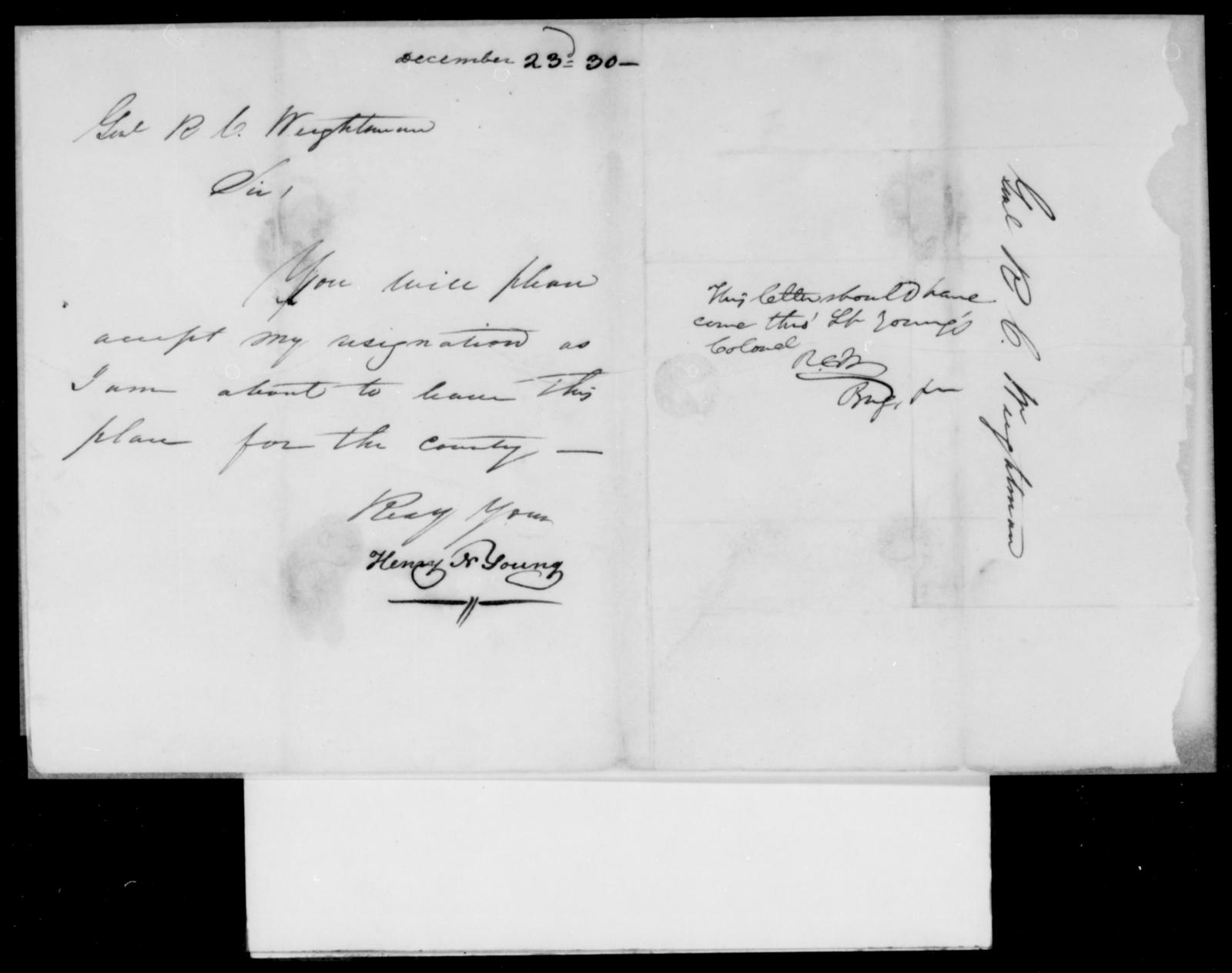 [Blank], [Blank] - State: [Blank] - Year: 1830 - File Number: [Blank]