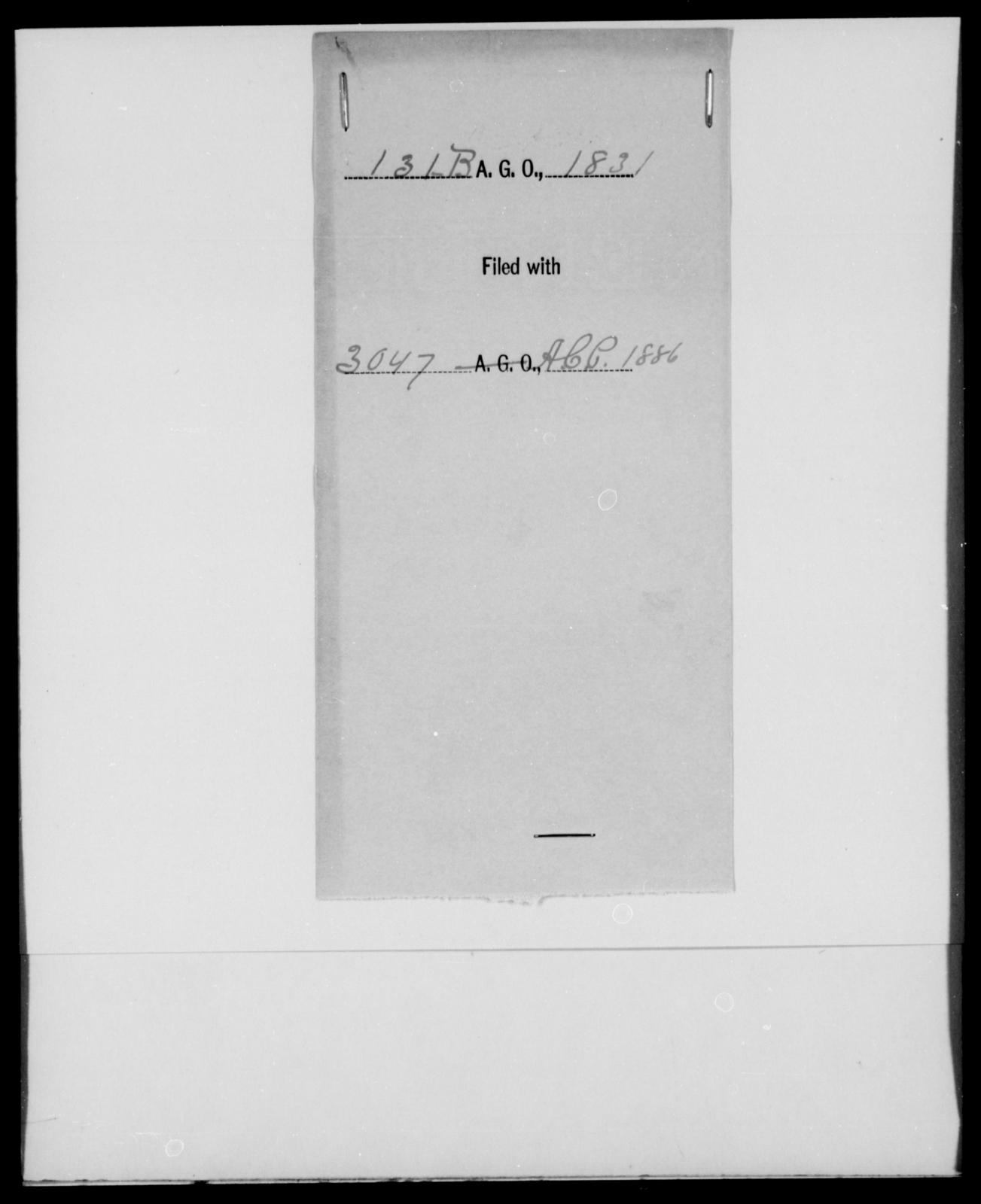[Blank], [Blank] - State: [Blank] - Year: 1831 - File Number: B131