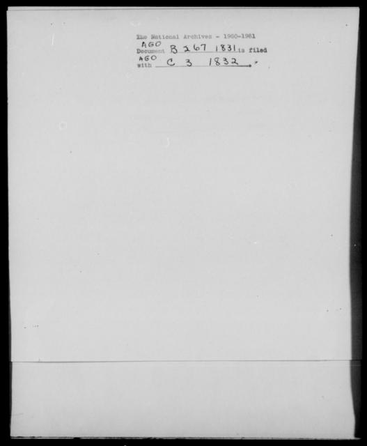 [Blank], [Blank] - State: [Blank] - Year: 1831 - File Number: B267