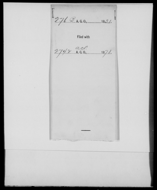 [Blank], [Blank] - State: [Blank] - Year: 1831 - File Number: B276