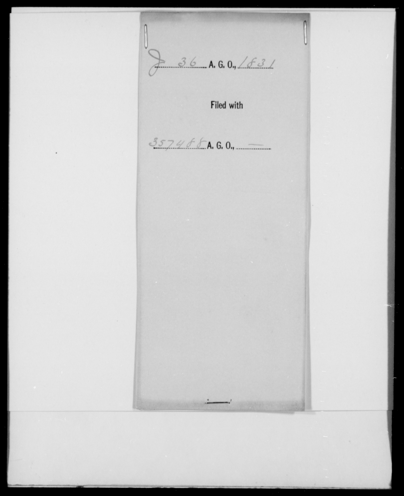 [Blank], [Blank] - State: [Blank] - Year: 1831 - File Number: J36