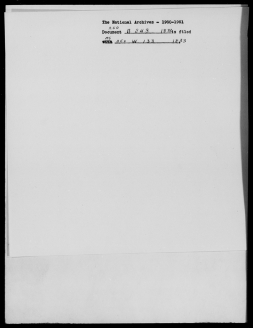 [Blank], [Blank] - State: [Blank] - Year: 1833 - File Number: B243