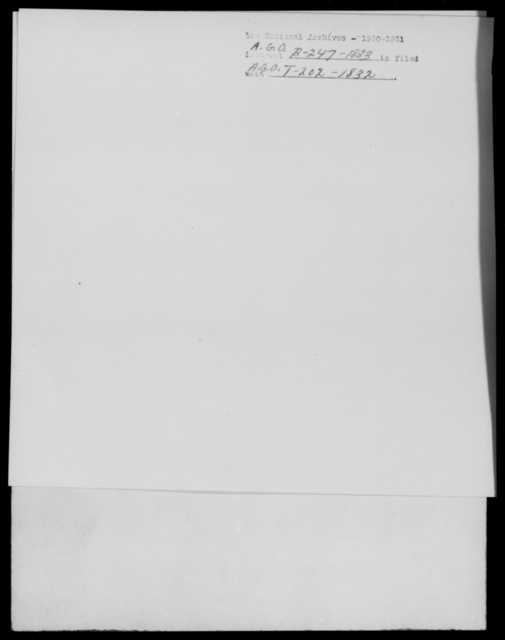 [Blank], [Blank] - State: [Blank] - Year: 1833 - File Number: B247