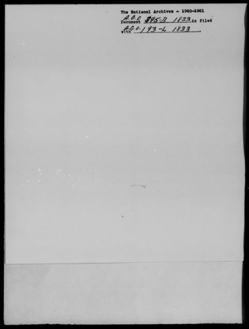 [Blank], [Blank] - State: [Blank] - Year: 1833 - File Number: B395