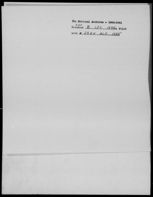 [Blank], [Blank] - State: [Blank] - Year: 1835 - File Number: B120