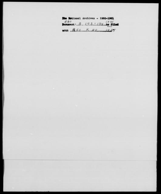 [Blank], [Blank] - State: [Blank] - Year: 1835 - File Number: B193