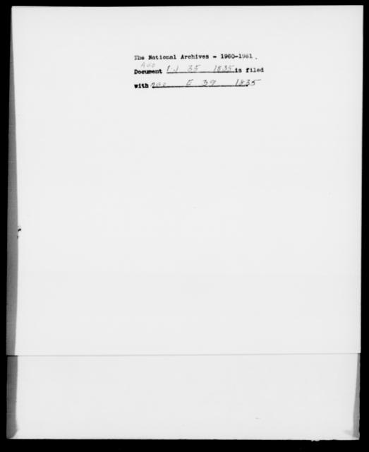 [Blank], [Blank] - State: [Blank] - Year: 1835 - File Number: J35