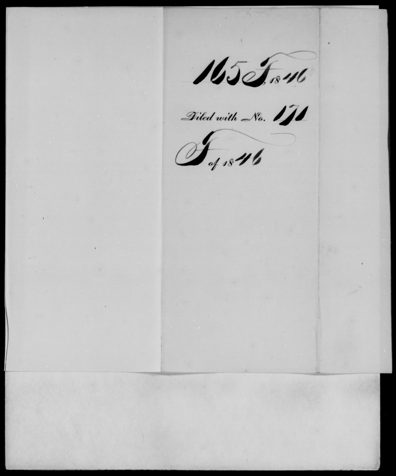 [Blank], [Blank] - State: [Blank] - Year: 1846 - File Number: F165