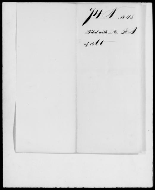 [Blank], [Blank] - State: [Blank] - Year: 1848 - File Number: N74