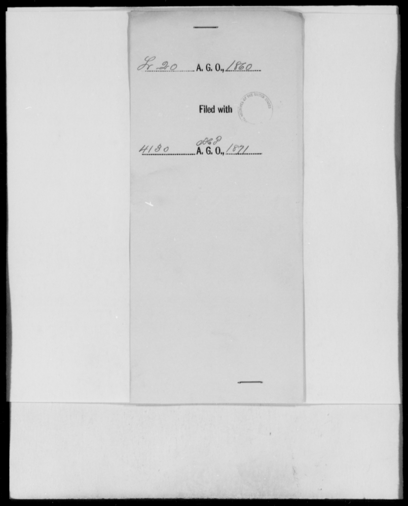 [Blank], [Blank] - State: [Blank] - Year: 1860 - File Number: L20