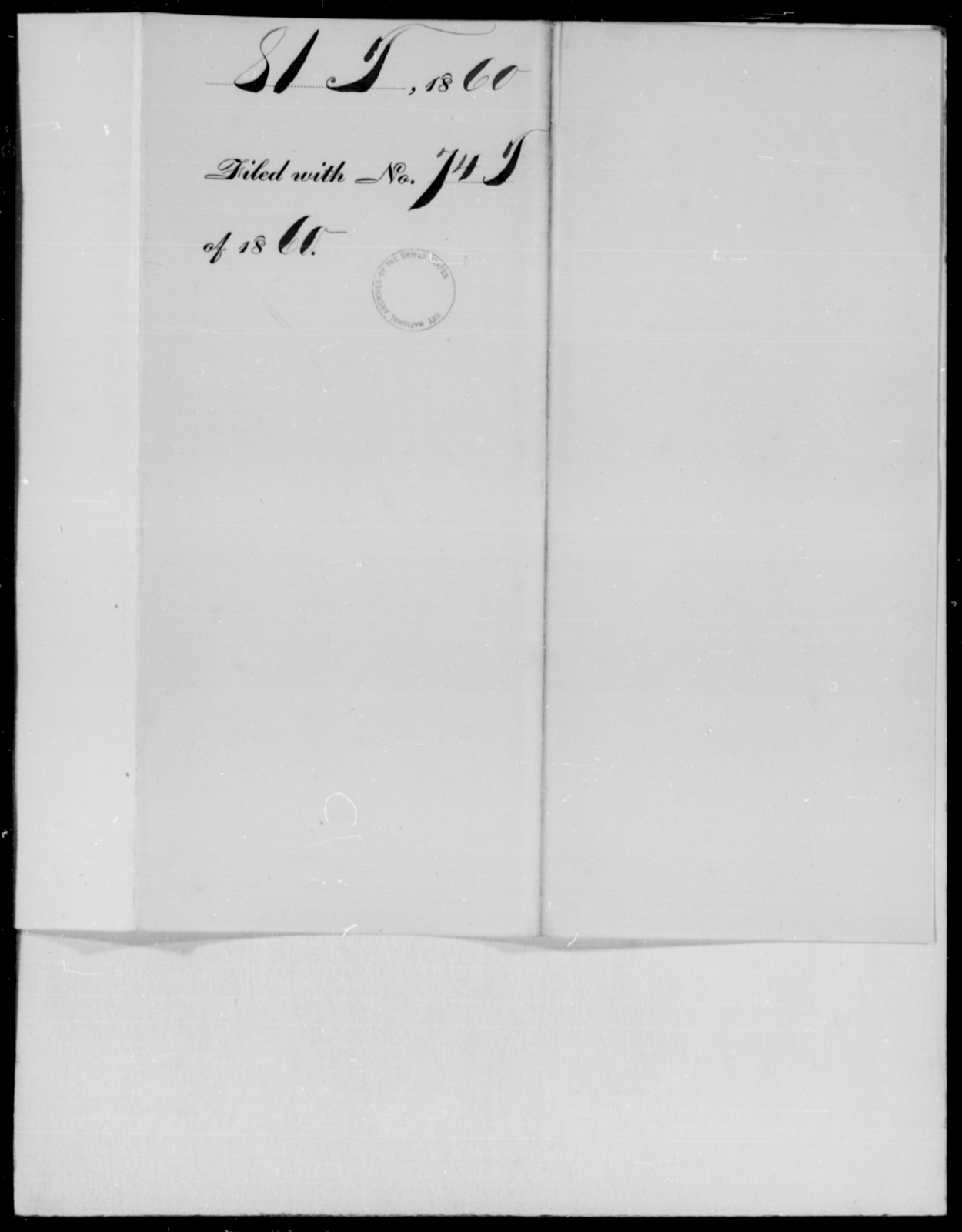 [Blank], [Blank] - State: [Blank] - Year: 1860 - File Number: T81
