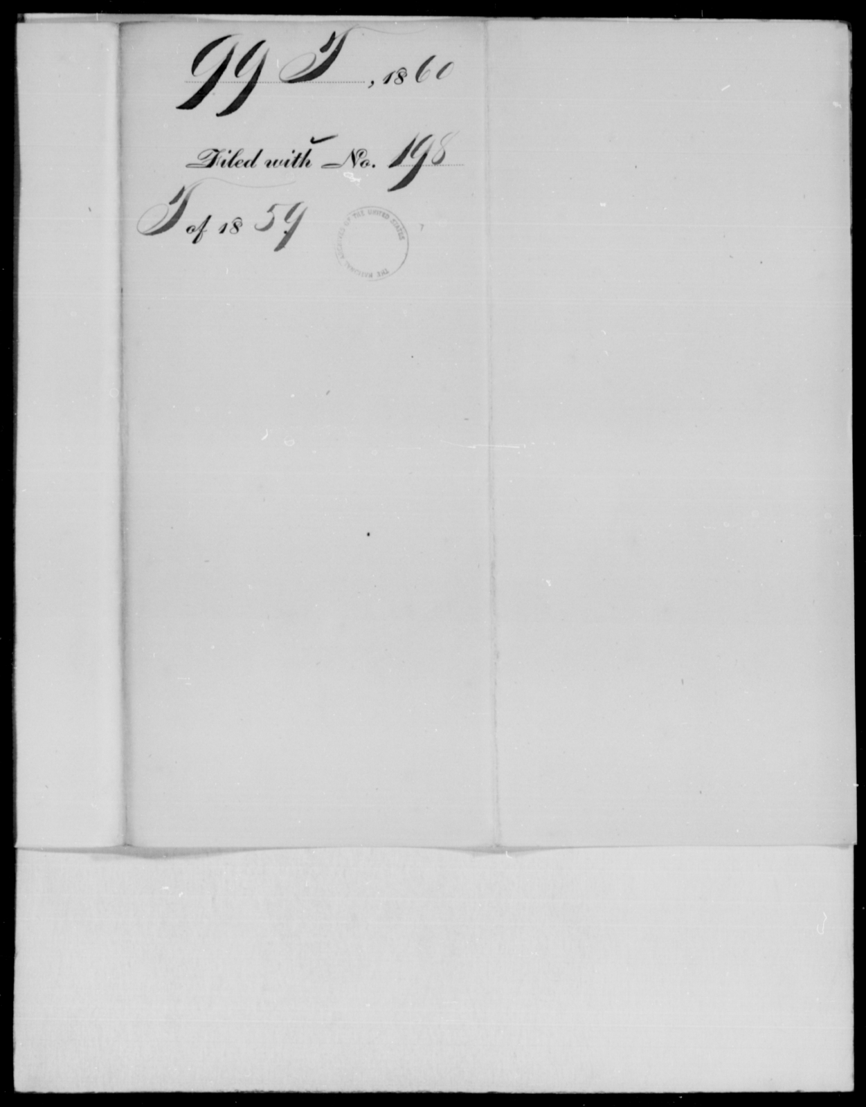[Blank], [Blank] - State: [Blank] - Year: 1860 - File Number: T99