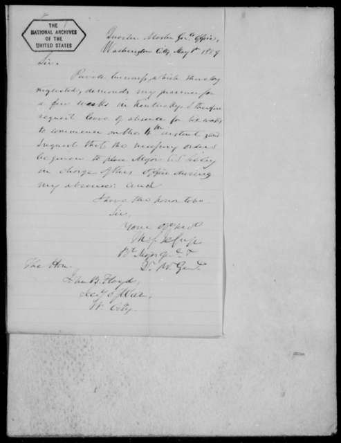[Blank], [Blank] - State: District of Columbia - Year: 1859 - File Number: Q13