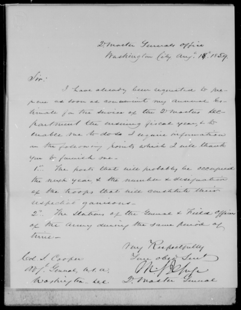 [Blank], [Blank] - State: District of Columbia - Year: 1859 - File Number: Q28