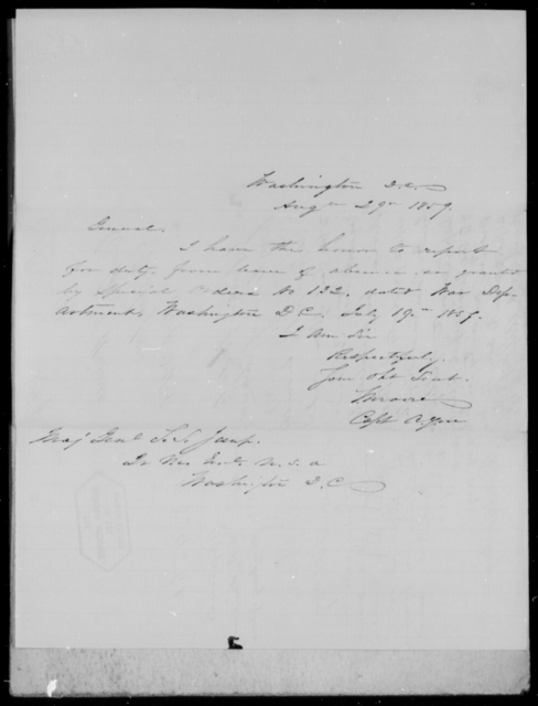 [Blank], [Blank] - State: District of Columbia - Year: 1859 - File Number: Q31