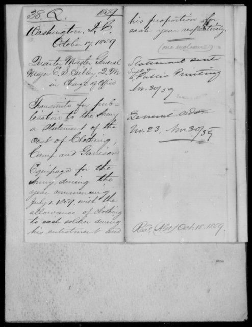 [Blank], [Blank] - State: District of Columbia - Year: 1859 - File Number: Q38