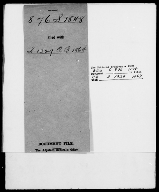 [Blank], [Blank] - State: Mississippi - Year: 1848 - File Number: S876