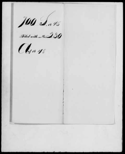 [Blank], [Blank] - State: Missouri - Year: 1848 - File Number: S700