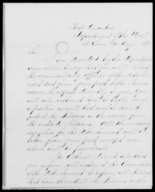 [Blank], [Blank] - State: Missouri - Year: 1860 - File Number: I50