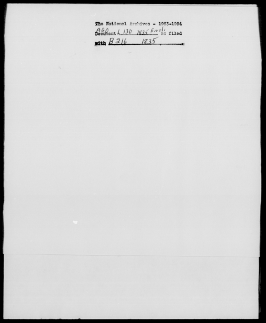[Blank], [Blank] - State: New York - Year: 1835 - File Number: L130