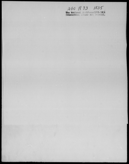 [Blank], [Blank] - State: New York - Year: 1835 - File Number: R73