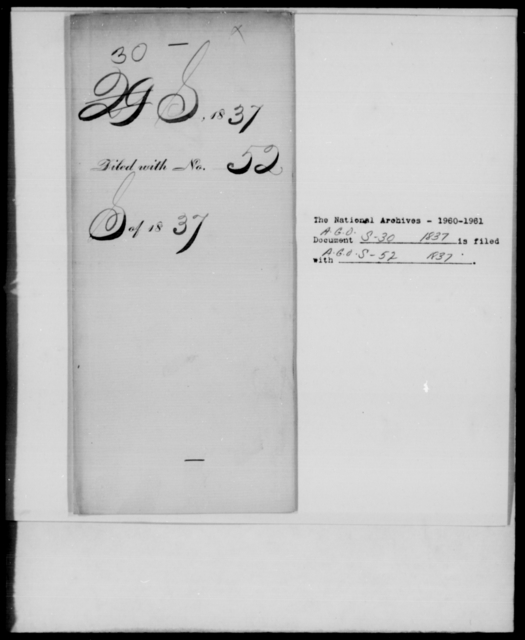 [Blank], [Blank] - State: New York - Year: 1837 - File Number: S30