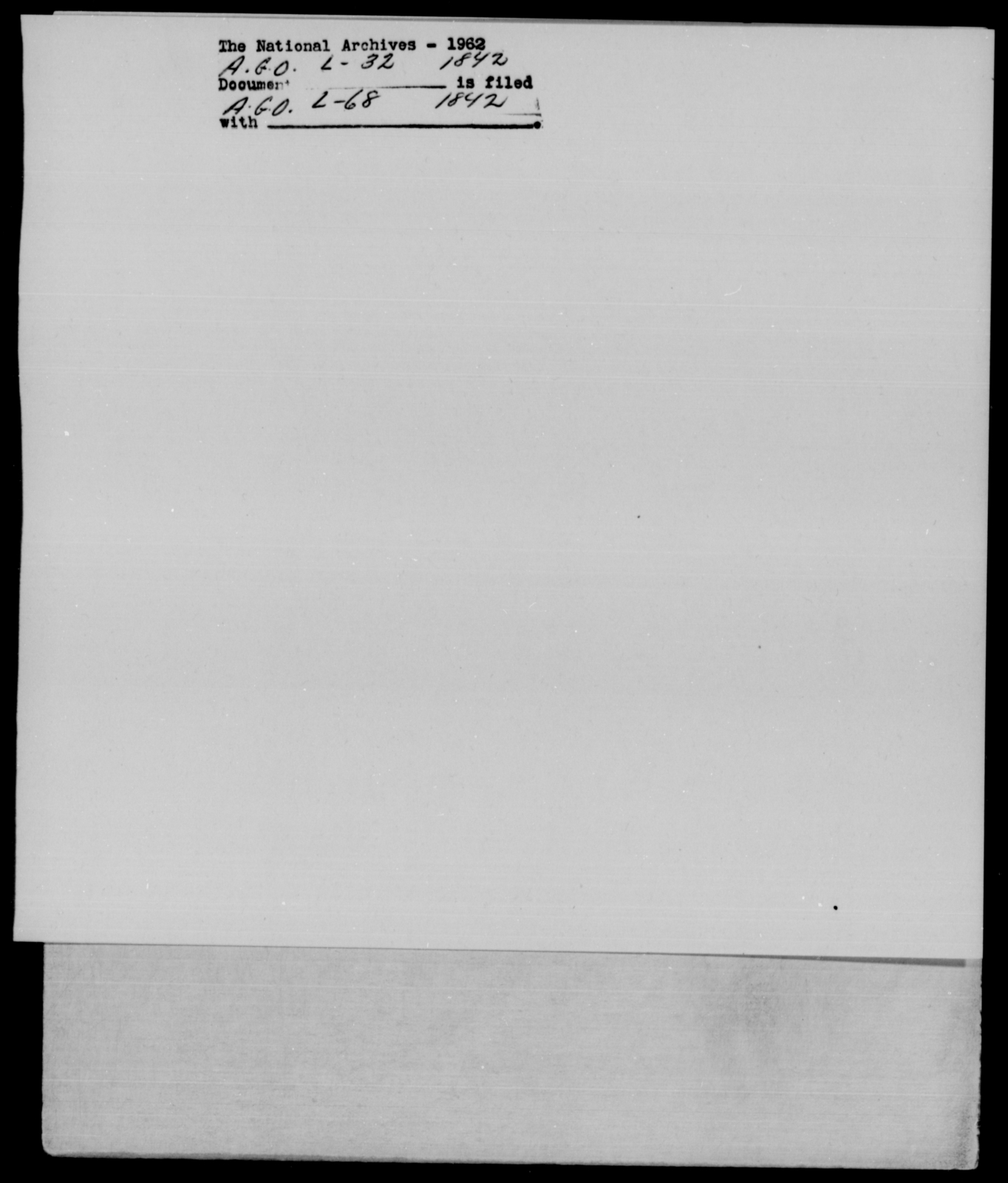 [Blank], [Blank] - State: New York - Year: 1842 - File Number: L32
