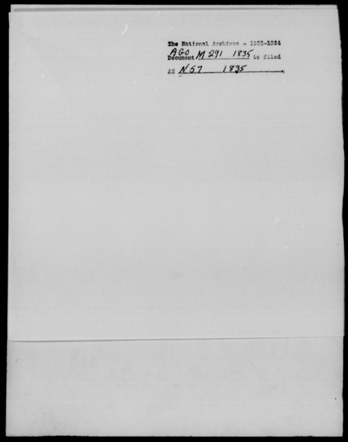 [Blank], [Blank] - State: Pennsylvania - Year: 1835 - File Number: M291