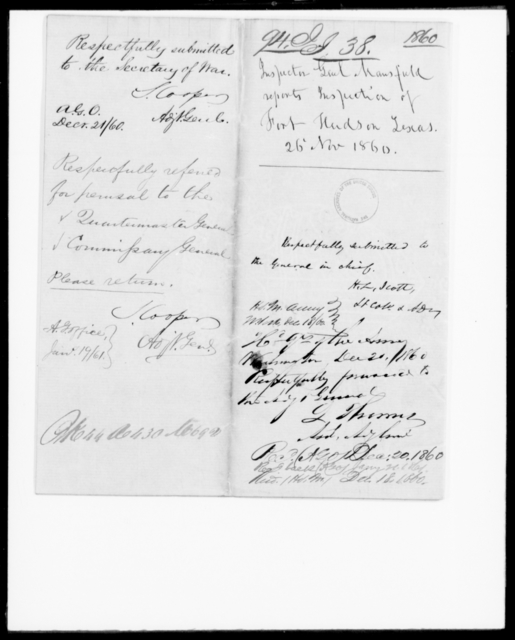 [Blank], [Blank] - State: Texas - Year: 1860 - File Number: I94