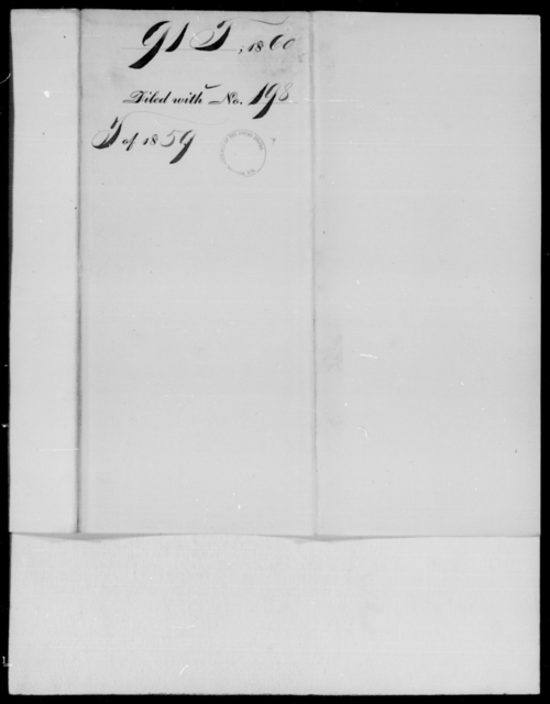[Blank], [Blank] - State: Texas - Year: 1860 - File Number: T91