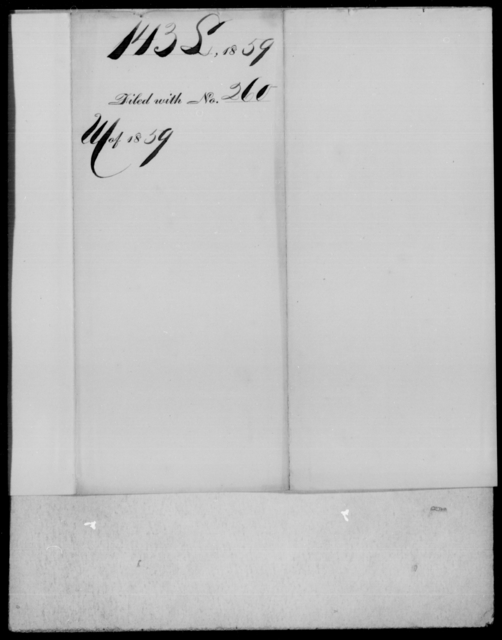 [Blank], [Blank] - State: Virginia - Year: 1859 - File Number: L143