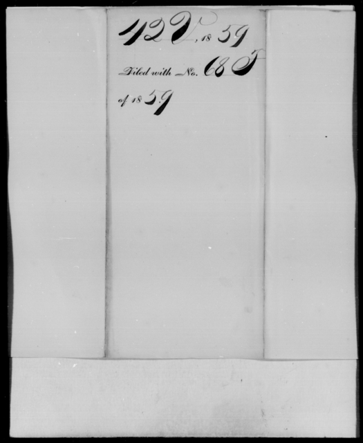 [Blank], [Blank] - State: Virginia - Year: 1859 - File Number: V42