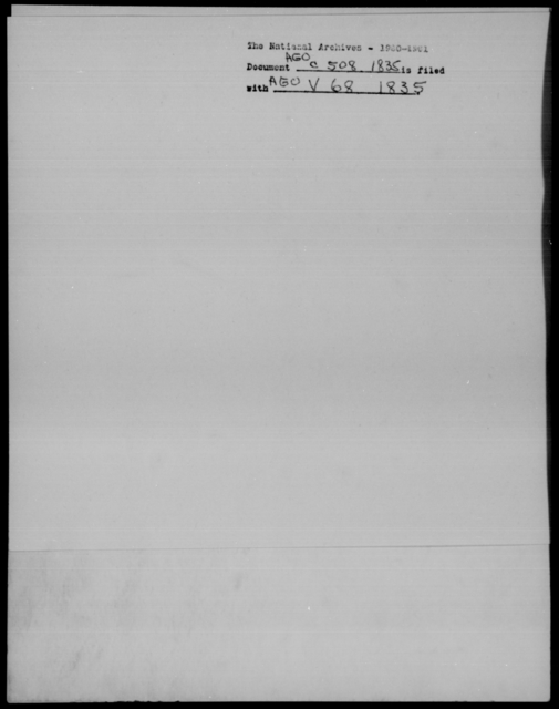 Clark, Arch - State: [Blank] - Year: 1835 - File Number: C508