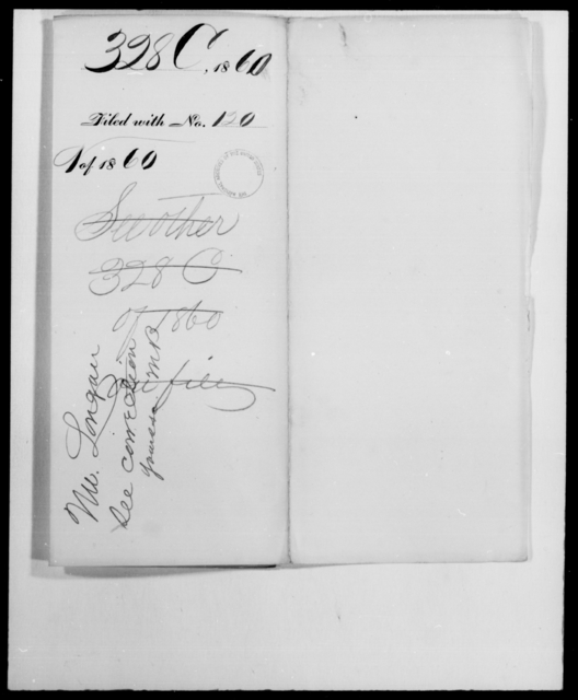 Clayton, [Blank] - State: [Blank] - Year: 1860 - File Number: C328