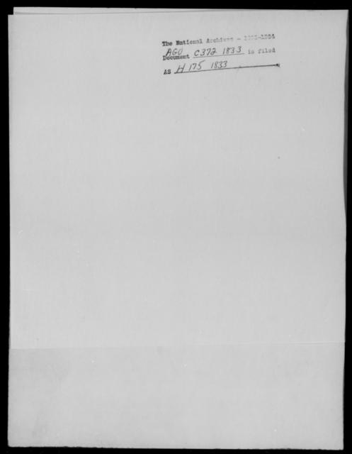 Crane, J B - State: [Blank] - Year: 1833 - File Number: C372