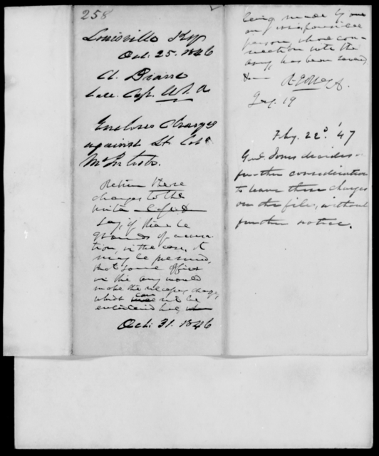 Drane, [Blank] - State: Kentucky - Year: 1846 - File Number: D257