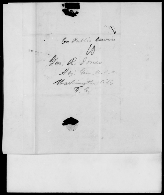 Duncan, James - State: District of Columbia - Year: 1846 - File Number: D259
