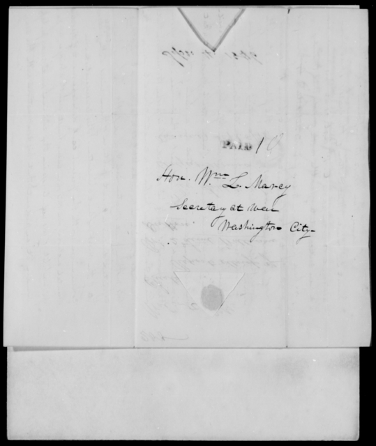 Dutton, Chester - State: District of Columbia - Year: 1846 - File Number: D200
