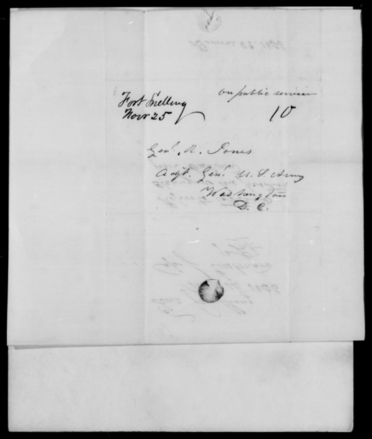 Eastman, J - State: District of Columbia - Year: 1846 - File Number: E169