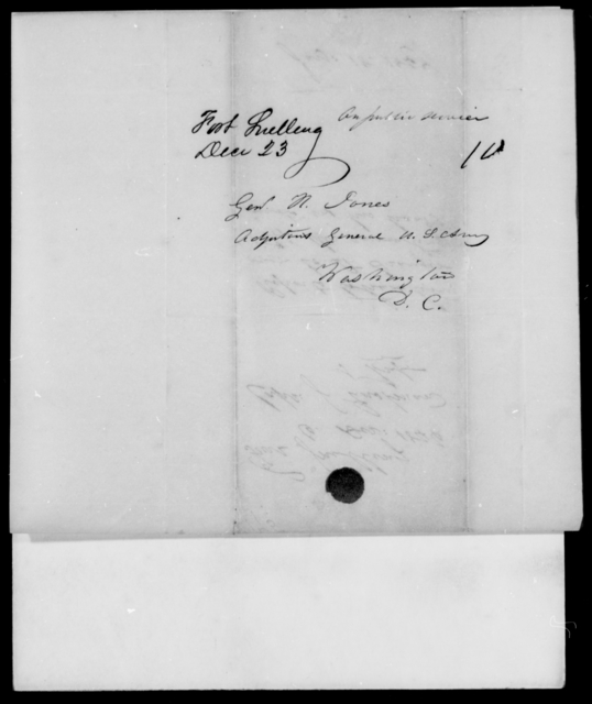 Eastman, J - State: District of Columbia - Year: 1846 - File Number: E175