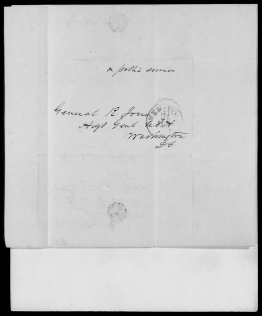 Eaton, A B - State: District of Columbia - Year: 1846 - File Number: E58