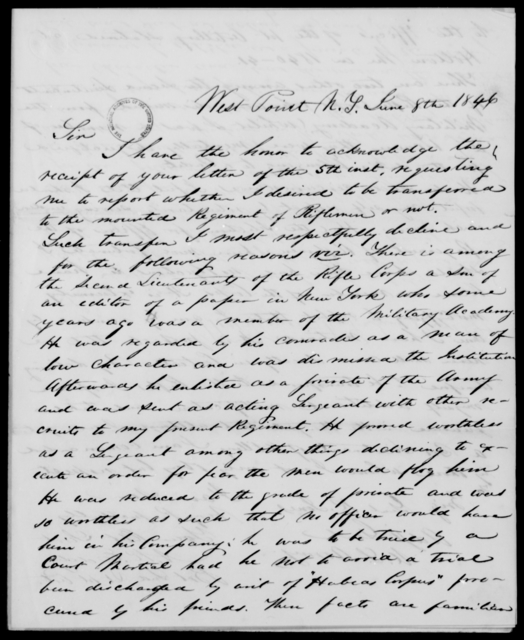 Eddy, A R - State: New York - Year: 1846 - File Number: E51
