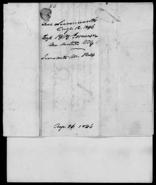 Edmonson, B B - State: [Blank] - Year: 1846 - File Number: E86