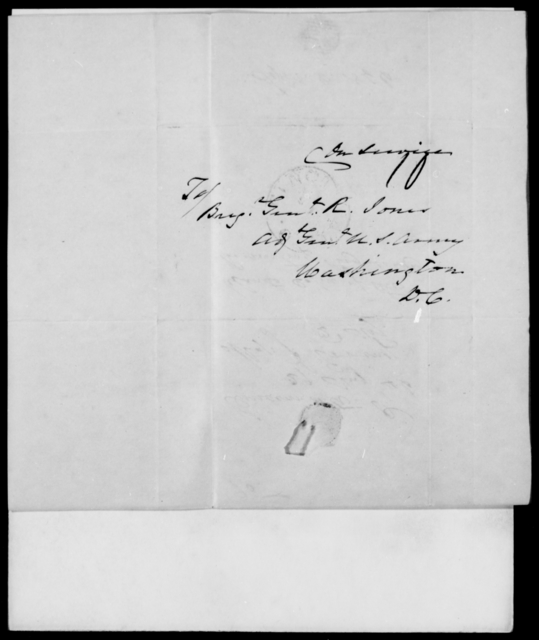 Erving, J - State: District of Columbia - Year: 1846 - File Number: E95