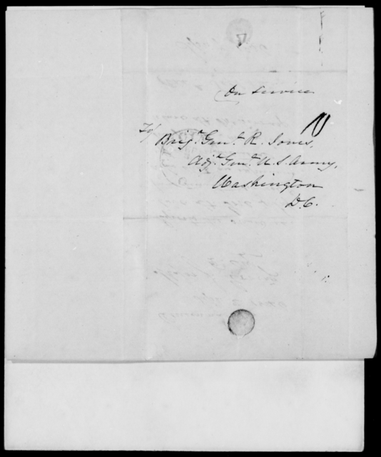 Erving, J - State: District of Columbia - Year: 1846 - File Number: E98