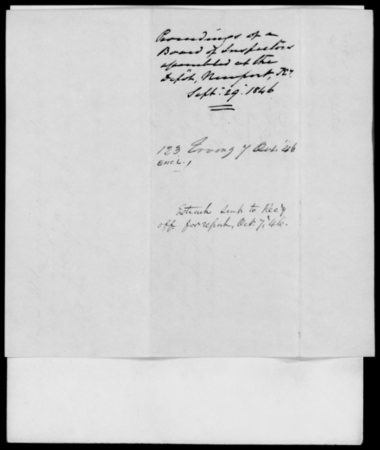 Erving, J - State: Kentucky - Year: 1846 - File Number: E123