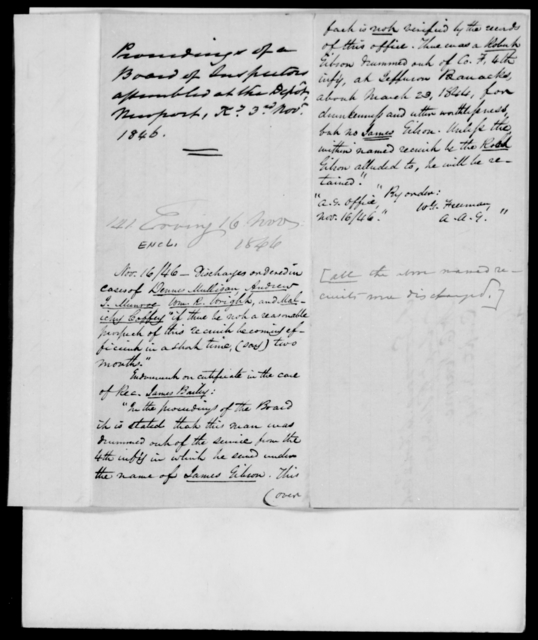 Erving, J - State: Kentucky - Year: 1846 - File Number: E141