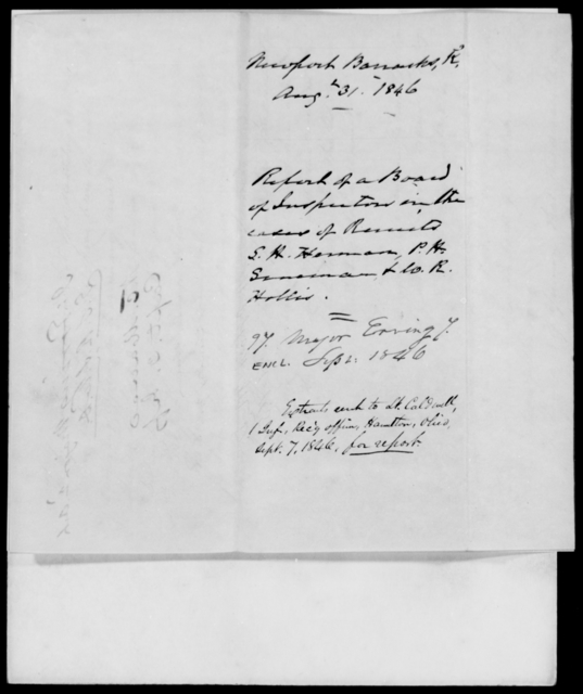 Erving, J - State: Kentucky - Year: 1846 - File Number: E97