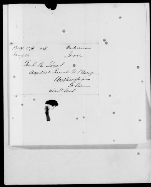 Eustis, Wm - State: Washington - Year: 1842 - File Number: E15